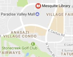Mesquite Library Map